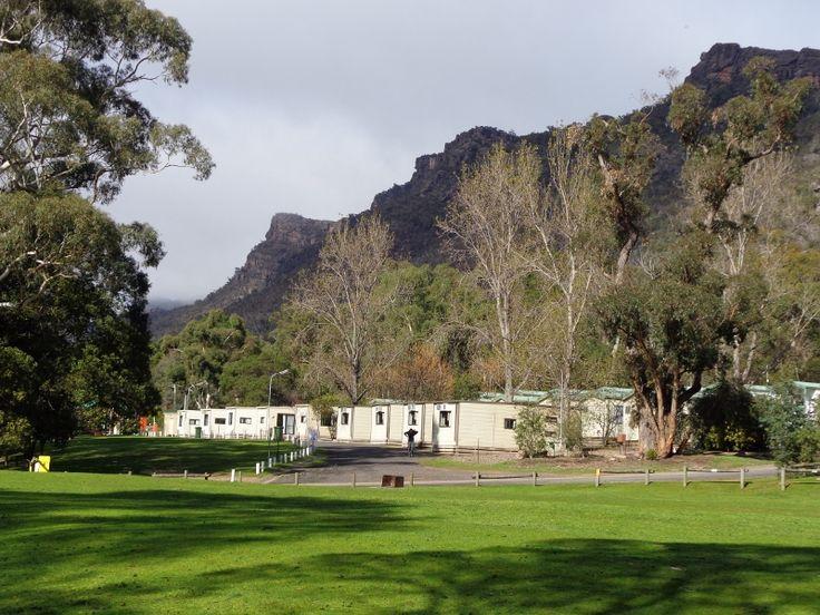 Halls Gap caravan park