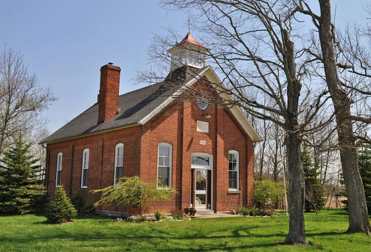 School House | OLD SCHOOLHOUSES × | Pinterest | House and ... Old One Room School Building