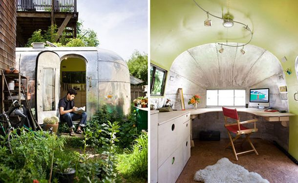 Garden trailer.