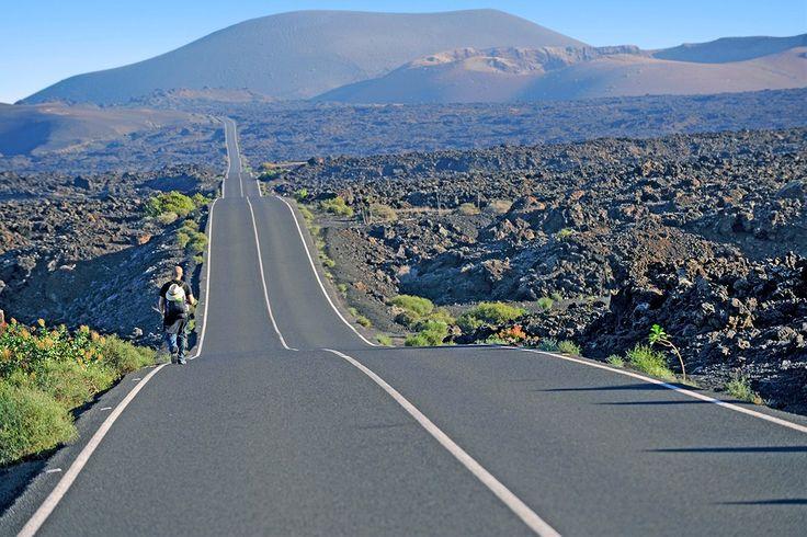 Cruisailijan nautinto! #Lanzarote #highway http://www.finnmatkat.fi/lomakohde/espanja/lanzarote/?season=talvi-13-14 #Finnmatkat