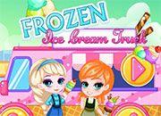 Frozen Ice Cream Truck