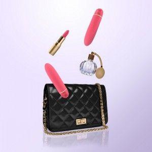 Wibratory i masażery - Dyskretny wibrator dla kobiet w zgrabnej i eleganckiej kosmetyczce dostępny w sklepie  Sexshop112.pl http://sexshop112.pl/32-wibratory