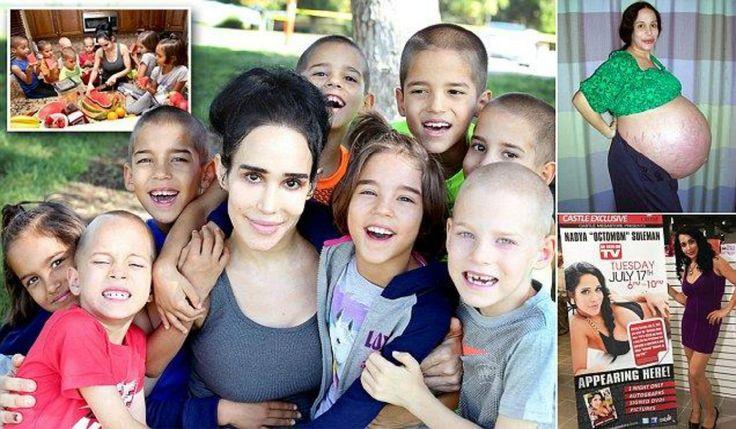 Natalie Suleman, hoy de 41 años de edad, encabezó los titulares de todo el mundo en 2009 con la noticia de que sería la futura mamá de octillizos, producto de un
