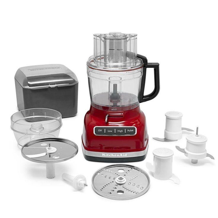 Kitchenaid 11cup food processor exact slice system dicing