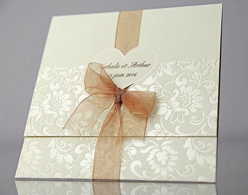 Invitaciones de boda originales y elegantes en verde - Tarjeta de boda ...