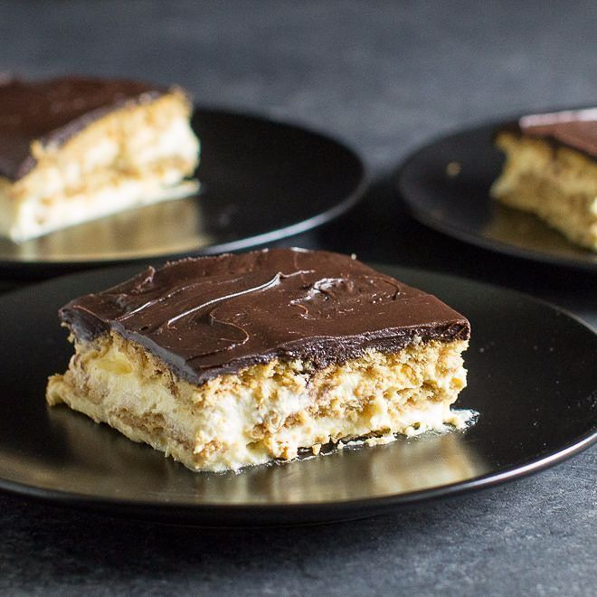 "25 Likes, 3 Comments - Recipes • Meggan Hill (@culinaryhill) on Instagram: ""Chocolate Eclair Cake, that magical combination of creamy pudding, softened graham crackers, and…"""