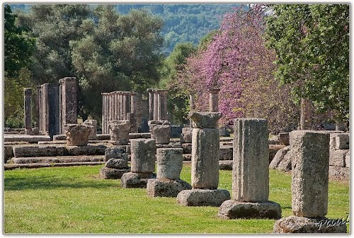 Gymnasium & Palaestra, Ancient Olympia, Greece