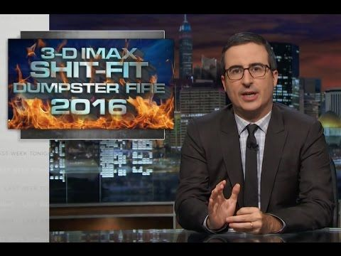 John Oliver's names for the 2016 election