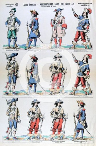 French Infantry, early reign of Louis XIV.