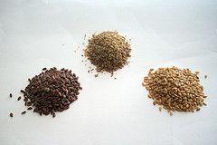 Les graines de lin pour l'hydratation