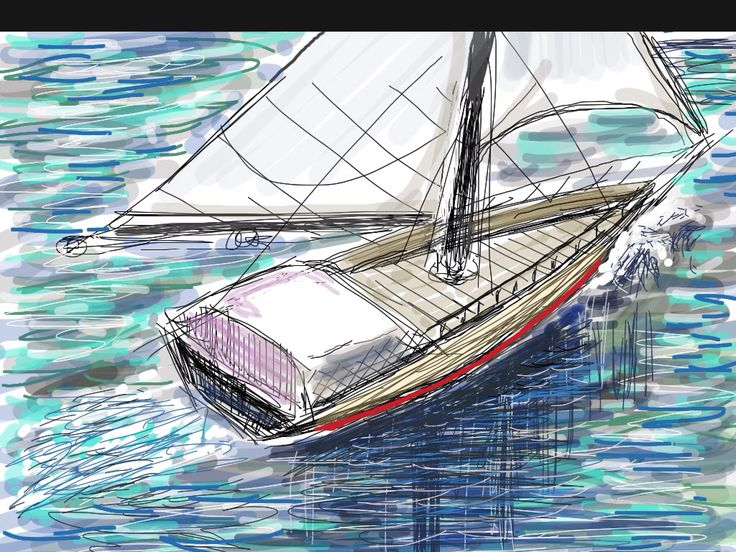 Pin by Steven Fischer on My doodles   Sailing, Sailing