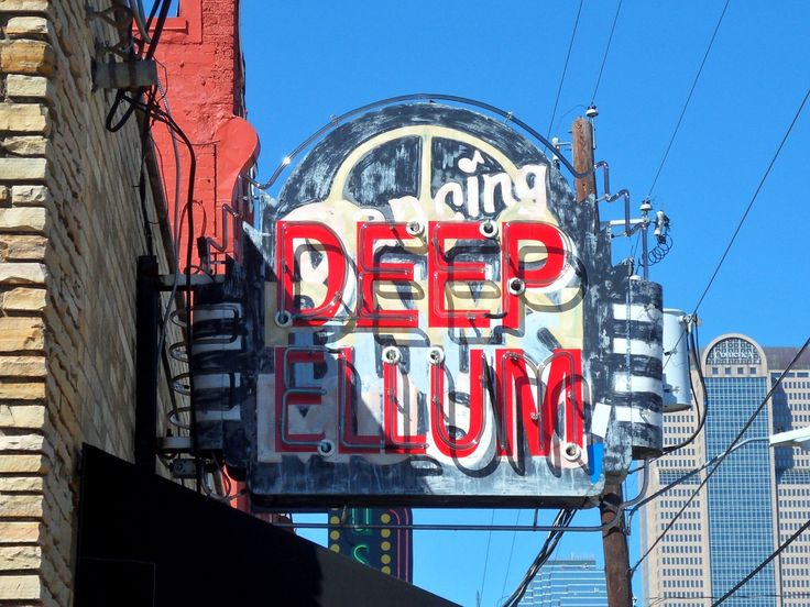 7 best Deep Ellum signs images on Pinterest Dallas texas, Dallas - best of blueprint party dallas