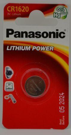 BATTERIA PANASONIC CR1620 LITHIUM 3V