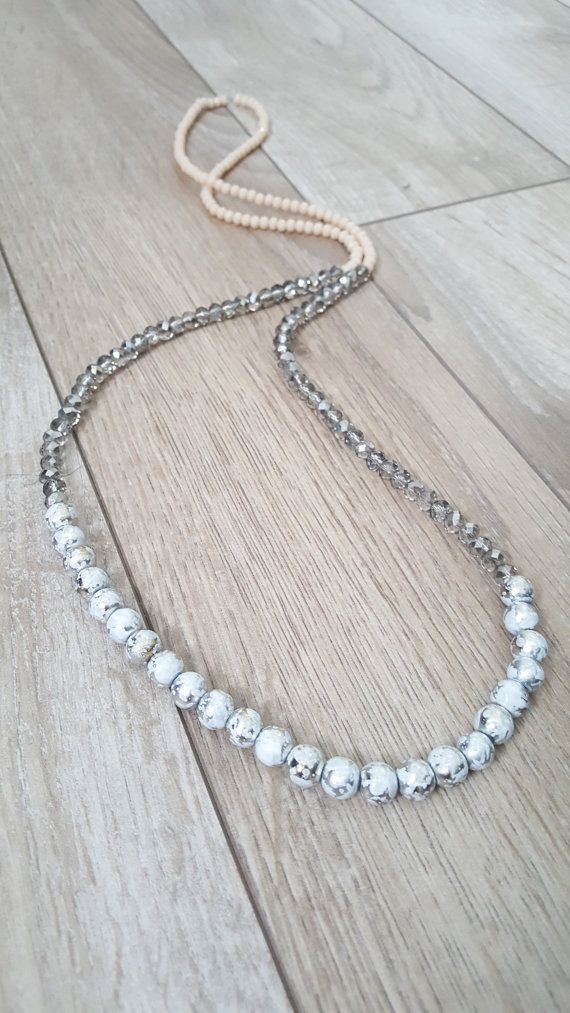 This necklace is amazing!!! So neutral and trendy!  https://www.etsy.com/listing/504104255/trendy-necklace-neutral-necklace-long