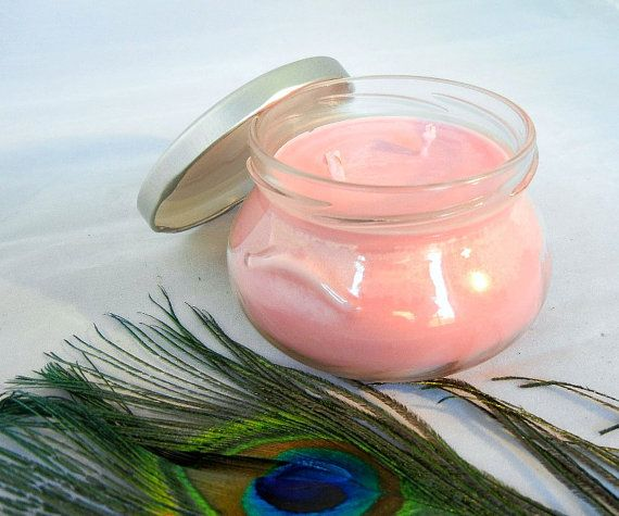 Plumeria Scented Soy Candle in 8oz Tureen Jar by theprismaticpeacock on Etsy.  This floral fragrance is perfect for summer and will create the exotic aroma of one of the most beautiful flowering trees of the tropics.  https://www.etsy.com/shop/theprismaticpeacock