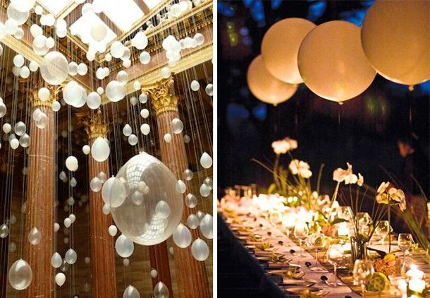 Ideas para la decoraci n de tu boda globos para tu boda for Decoracion bodas