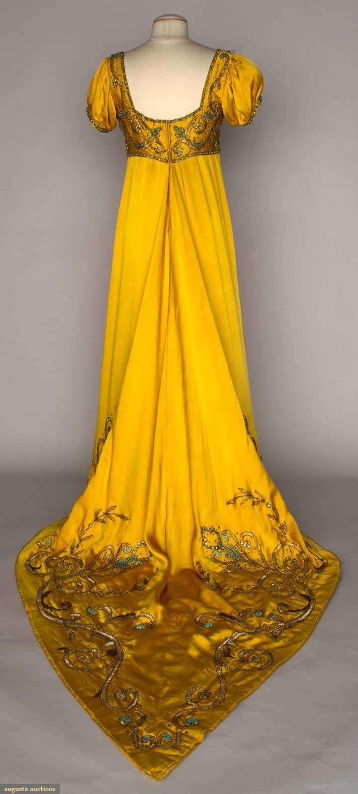 """Lanvin """"josephine"""" Fancy Dress, Early 20th C"""