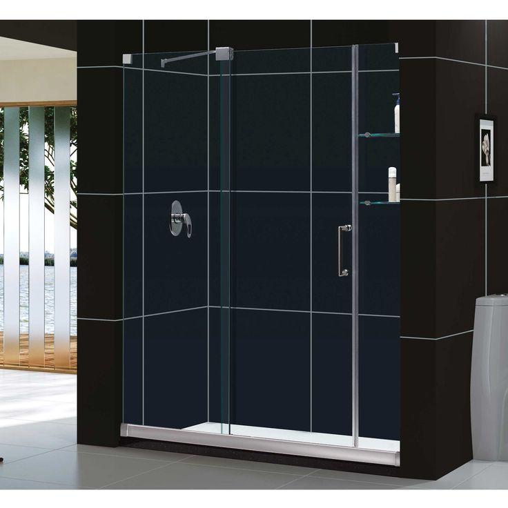 DreamLine Mirage 56-60x72-inch Frameless Sliding Shower Door