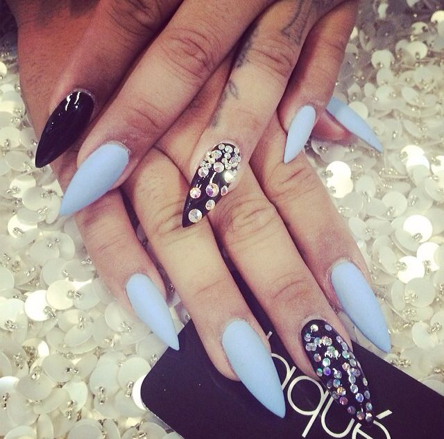 48 best almond nails... images on Pinterest | Almond nails, Almond ...