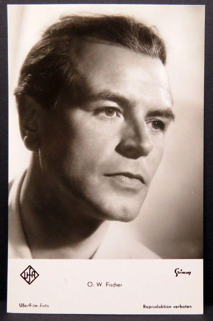 O. W. Fischer AK - Foto Autogramm-Karte - Photo Postcard (Lot # F2905 | eBay