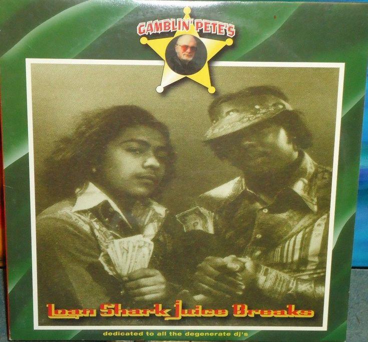Melo-D - Gamblin' Pete's Loan Shark Juice Breaks - 1999 - Vinyl LP
