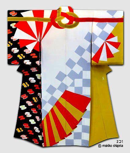 Makiko Shigeta, Contemporary Kimono Artist