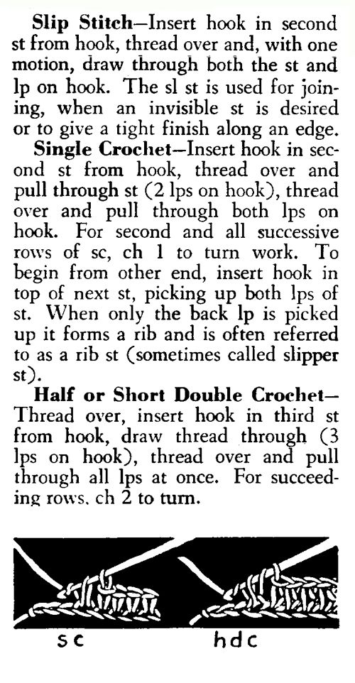 How to Crochet Step 2 with the Slip Stitch and/or Single Crochet ✿Teresa Restegui http://www.pinterest.com/teretegui/✿