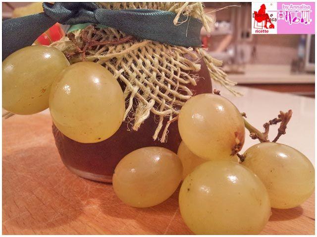 Marmellata di uva bianca e vaniglia