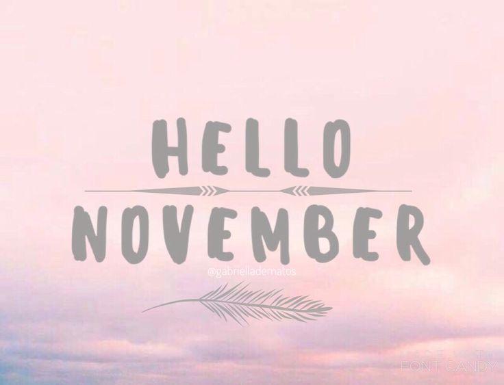 November ALREADY? Where did this year go?  Instagram: gabrielladematos | Pinterest: gabzdematos  #november #hellonovember #summer #pink #girly #hellosummer #halloween