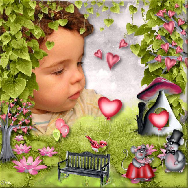 """Kit """" Always love"""" by Kastagnette"""