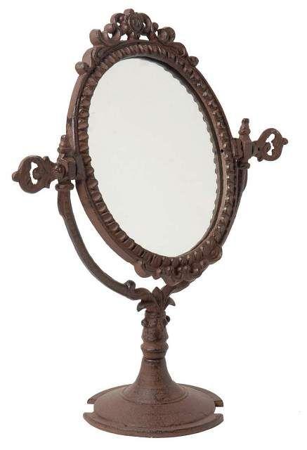 Зеркало настольное (чугун) Цена 3100 руб.