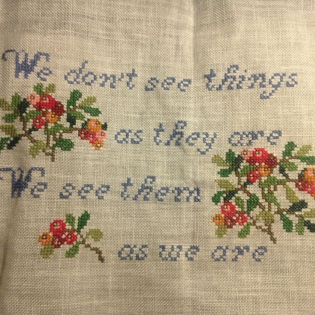 Gift for Rikke #schnirkelcraft #feminism #anaisnin #art #crossstitch #korssting #korsstygn #flowers