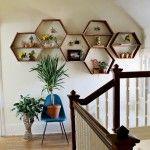 Interieurtip: zelf honingraat-schappen maken