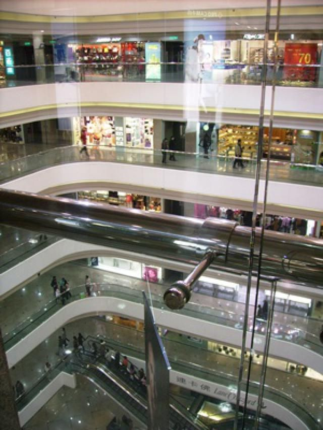 5 Over-the-Top Hong Kong Shopping Malls: Times Square