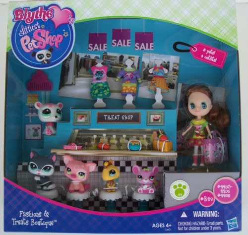 Blythe Littlest Pet Shop Fashions And Treats Boutique
