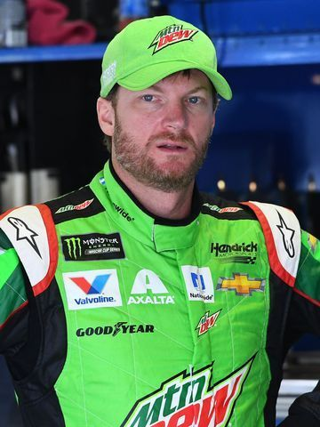 Dale Earnhardt Jr. finished ninth Sunday at Michigan