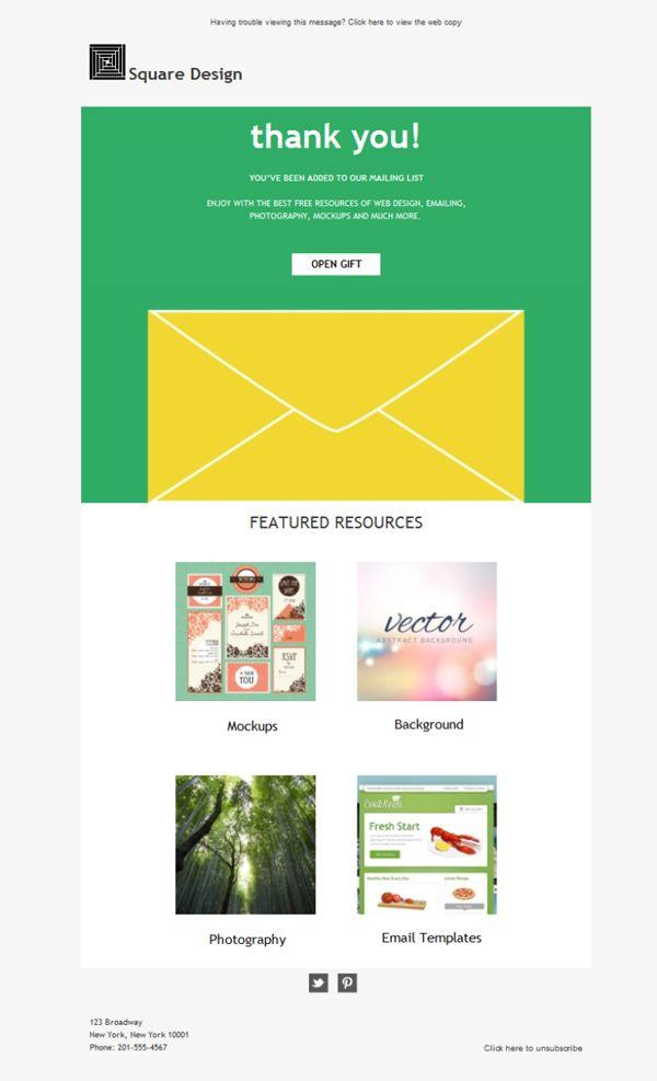 Haz que todos los contactos de tu agencia de diseño gráfico tengan a mano tu plantilla newsletter. Envía emailing con Mailify y difunde tu labor.