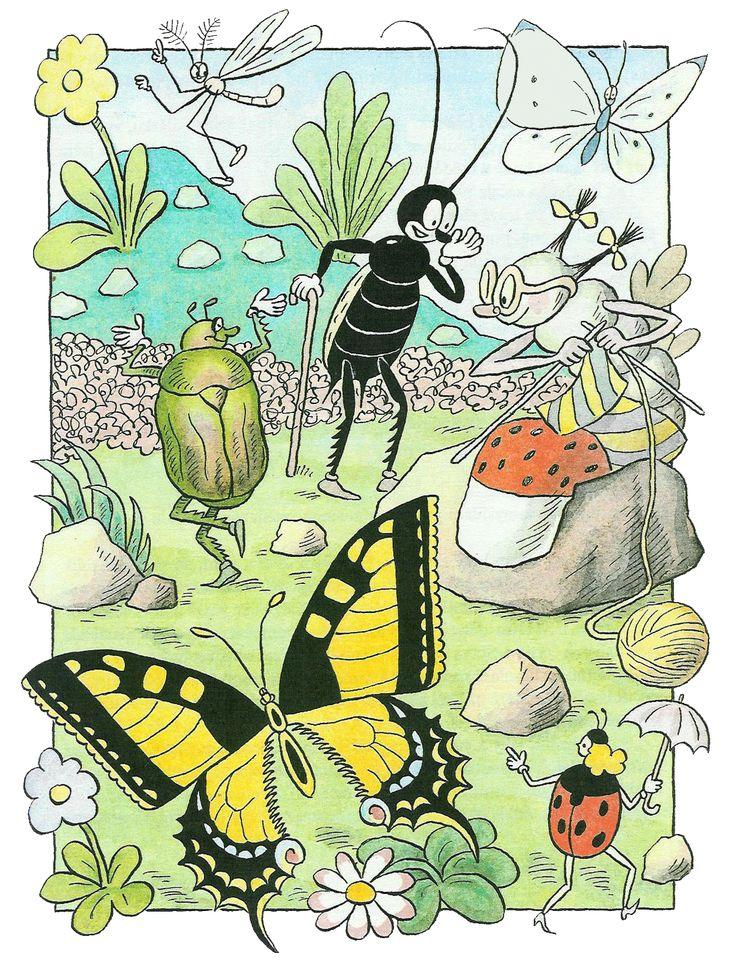pohádka: Ferda Mravenec v cizích službách