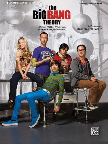 The Big Bang Theory (Main Title): Piano/Vocal/Guitar (Sheet) (Original Sheet Music Edition) @ niftywarehouse.com #NiftyWarehouse #BigBangTheory #TV #Show #BigBangTheoryShow #BigBangTheoryTVShow #Comedy