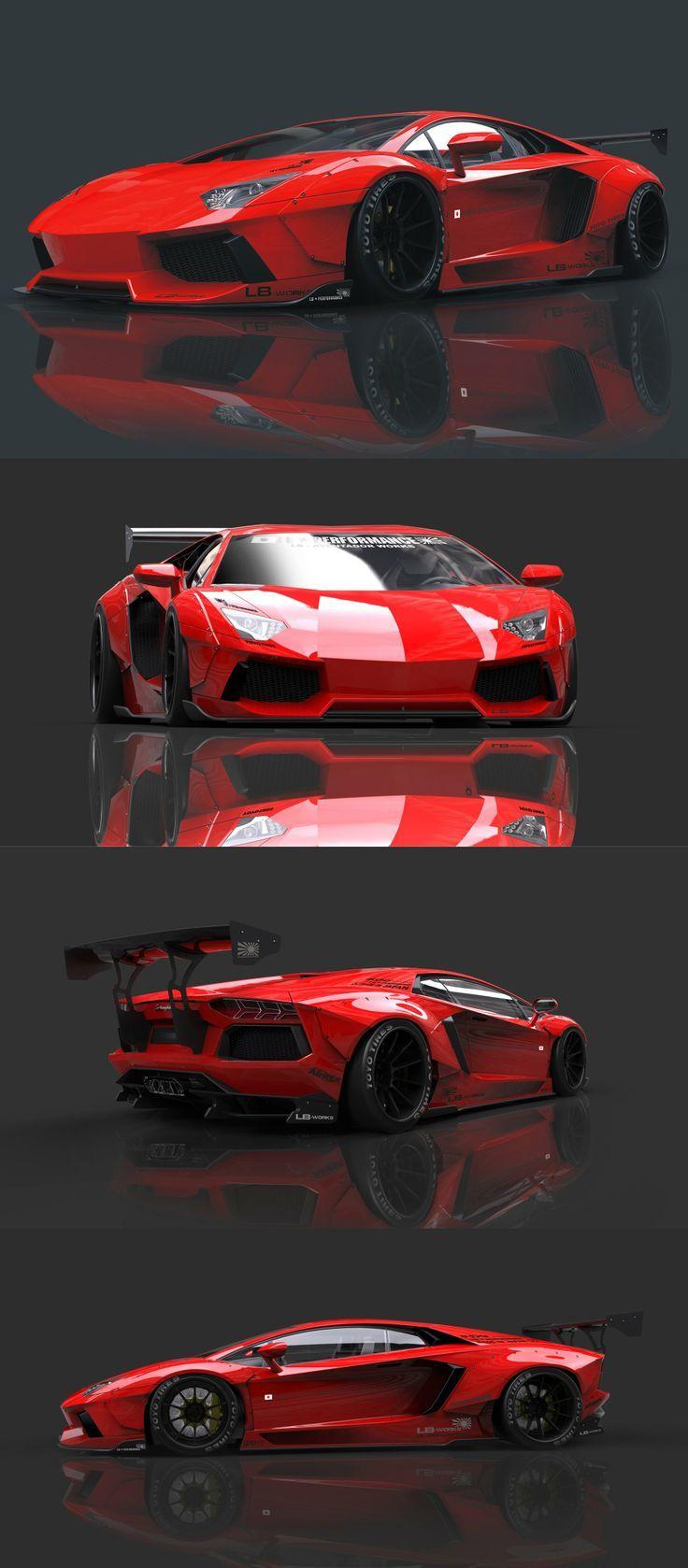 Liberty Walk Lamborghini Aventador. Hot or Not? You decide... #TinderforCars