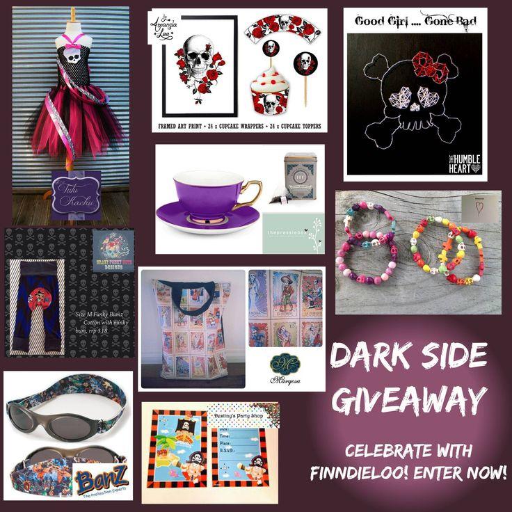 Enter to win: FinndieLoo Dark Side Giveaway - 9 Prizes, 1 Winner!! | http://www.dango.co.nz/s.php?u=Lm2kUJCv1803