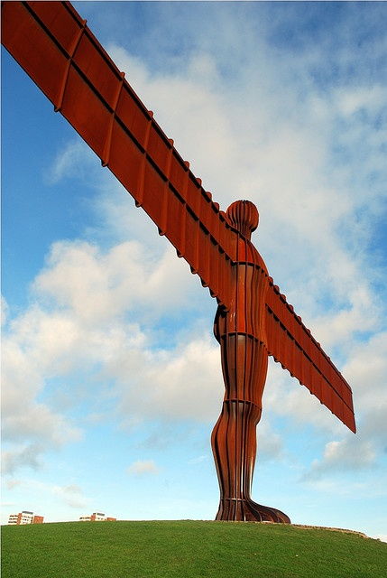 Angel of the North... Newcastle!!!