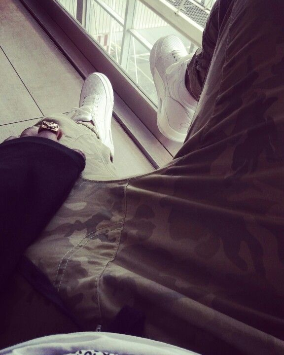 Nikes and Camo