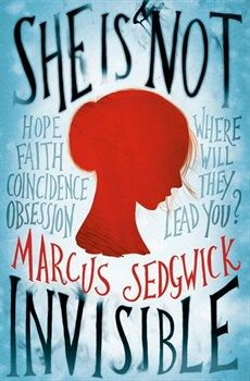 She Is Not Invisible by Marcus Sedgwick. Laureth Peak's father has taught her to look for recurring events, patterns, and numbers--a skill at which she's remarkably talented. Her secret: She is blind. But when her father goes missing, Laureth and her 7-year-old brother Benjamin are thrust into a mystery that takes them to New York City where surviving will take all her skill at spotting the amazing, shocking, and sometimes dangerous connections in a world full of darkness.