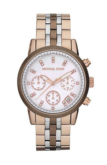 Michael Kors 'Ritz' chronograph watch.