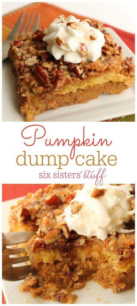 Pumpkin Dump Cake 3