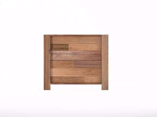 Oltre 1000 idee su letti in legno su pinterest reti da - Testiera letto legno ...