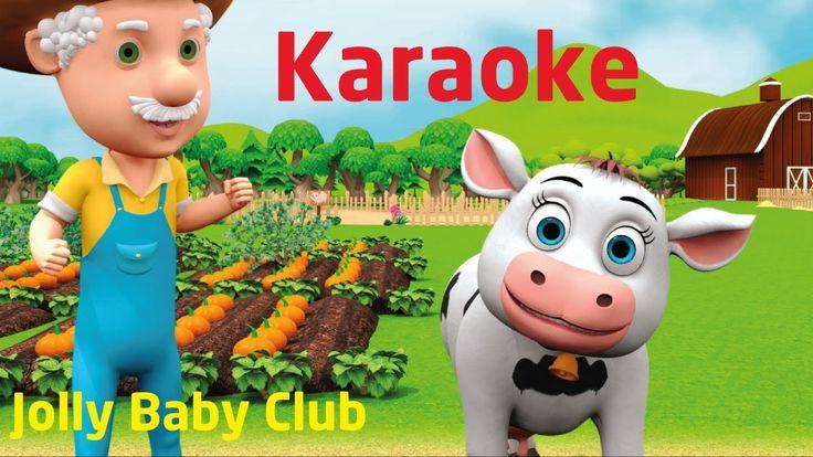 Old Macdonald Had A Farm - Karaoke For Kids - Nursery Rhymes and Baby So...