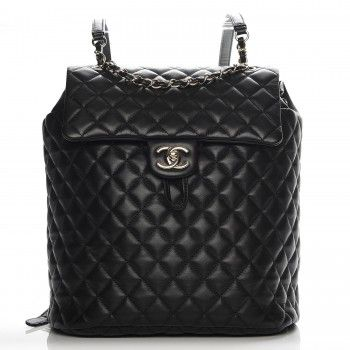 Chanel Lambskin Quilted Backpack
