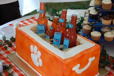 This was the Groom's cake.